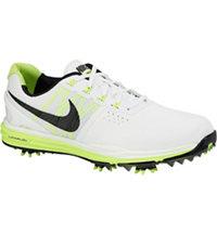 Men's Lunar Control III Golf Shoes - White/Black/Volt