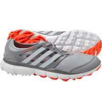 Women's Climacool II Spikeless Golf Shoes - Clear Onix/Running White/Solar Red