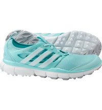 Women's Climacool II Spikeless Golf Shoes - Clear Aqua/Running White/Matte Silver