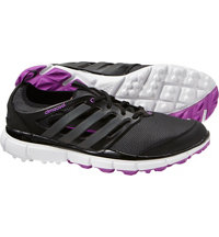 Women's Climacool II Spikeless Golf Shoes - Core Black/Iron Met/Flash Pink