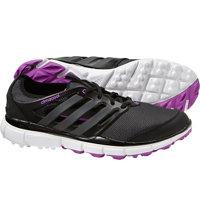 Women's Climacool II Spikeless Golf Shoes - Core Black/Iron Met/Flash Pink