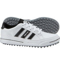 Jr. adicross IV Spikeless Golf Shoes - Running White/Core Black/Silver Met