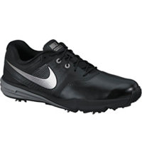 Men's Lunar Command Golf Shoes - Black/Metallic Silver/Cool Grey