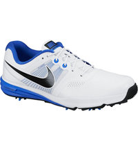 Men's Lunar Command Golf Shoes - White/Black/Lyon Blue