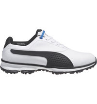 Men's Titan Lite Spiked Golf Shoes - White/Black