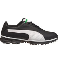 Men's Titan Lite Spiked Golf Shoes - Black/White