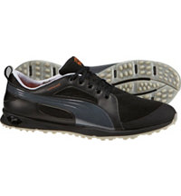 Men's Biofly Mesh Spikeless Golf Shoes - Black/Puma Silver