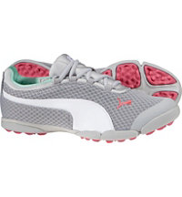Women's SunnyLite Mesh Spikeless Golf Shoes - Vapor Blue/White/Camelia Rose