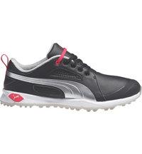 Women's BioFly Spikeless Golf Shoes - Black/Puma Silver/Raspberry