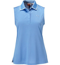 Women's Birdseye Sleeveless  Polo