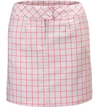Women's Plaid Tech Skort