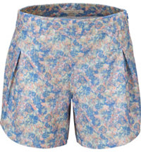 Women's Tour Floral Shorts