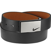 Men's Sleek Modern Plaque Belt