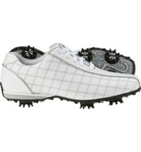 Women's LoPro Collection Golf Shoes - White/Silver (FJ 97199)
