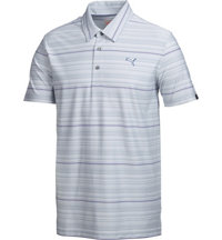 Men's Yarn Dyed Multi-Stripe Short Sleeve Polo