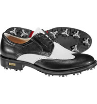 Men's World Class Golf Shoes - Black/White