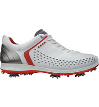 Men's BIOM G2 Golf Shoes - White/Fire