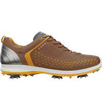 Men's BIOM G2 Golf Shoes - Camel/Fanta