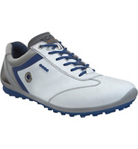 Men's BIOM Zero Golf Shoes - White/Royal