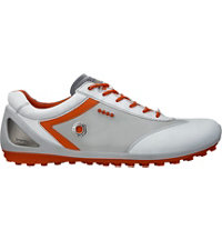 Men's BIOM Zero Golf Shoes - White/Concrete/Fire