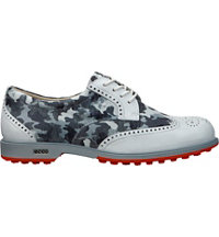 Women's Tour Hybrid Golf Shoes - White/Titanium (Camo)