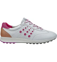 Women's Street EVO One Sport Golf Shoes - White/Candy