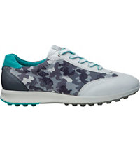 Women's Street EVO One Sport Golf Shoes - White/Titanium (Camo)