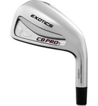Exotics CB Pro H 3-PW Iron Set with Steel Shafts