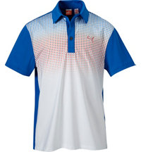 Juniors Glitch Short Sleeve Polo