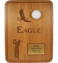 Personalized Cherry Eagle Plaque