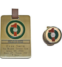 Personalized Hole In One Bag Tag and Ball Marker
