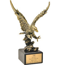 Personalized Eagle Trophy