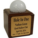 Great Golf Memories Personalized Hole In One Cube