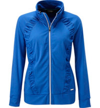 Women's Ivory Full-Zip Jacket