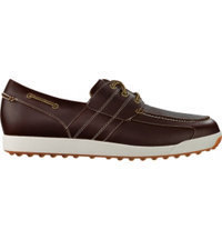 Men's Closeout Contour Casual Golf Shoes - Brown (FJ# 54332)
