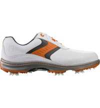 Men's Contour Series Golf Shoes - White/Orange/Grey (FJ# 54165)