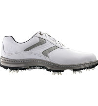 Men's Closeout Contour Series Golf Shoes - White/White/Light Grey (FJ# 54106)