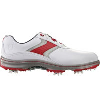 Men's Contour Series Golf Shoes - White/Red/Grey (FJ# 54172)