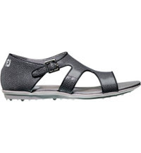 Women's Closeout Naples Collection Spikeless Sandal - Black/Black (FJ# 92377)