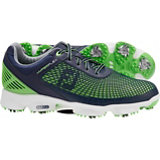 Men's HyperFlex Golf Shoes - Navy/Neon Green (FJ# 51007)