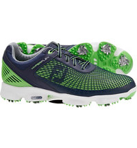 Men's HyperFlex Golf Shoes - Navy/Neon Green (FJ#51007)