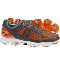 Men's HyperFlex Golf Shoes - Charcoal/Orange (FJ#51015)