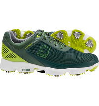 Men's HyperFlex Golf Shoes - Dark Green/Lime (FJ#51039)