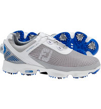 Men's HyperFlex BOA Golf Shoes - White/Grey/Blue (FJ#51053)