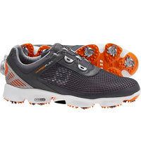 Men's HyperFlex BOA Golf Shoes - Grey/Orange (FJ#51061)
