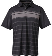 Men's Dry-18 Engineered Stripe Short Sleeve Polo