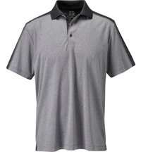 Men's Tour Select Heathered Short Sleeve Polo