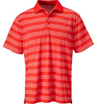 Men's Dry-18 Allover Stripe Short Sleeve Polo