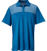 Men's Color Blocked Short Sleeve Polo