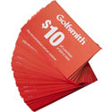 Golfsmith Tournament Cards (100 cards per pack)